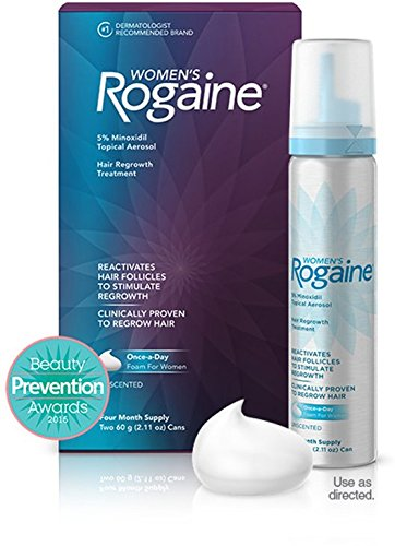 Women's Rogaine Hair Regrowth Treatment Foam, 4 Month Supply by Rogaine