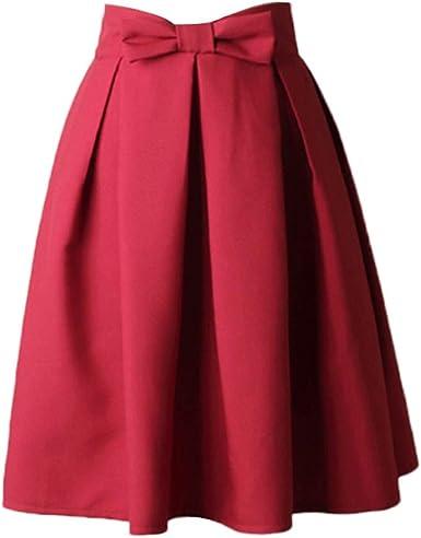 Saihui - Vestido de mujer vintage de los años 50 con falda hasta ...
