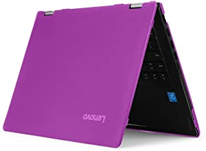 """iPearl mCover Hard Shell Case for New 14"""" Lenovo Ideapad Flex 6 14 (6-14IKB or 6-14ARR, NOT Compatible with Older Flex 4-14/5-1470 Series) Laptop Computers (FLEX6-14 Purple)"""