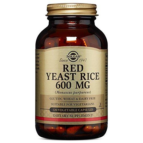 Solgar - Red Yeast Rice, 120 Vegetable Capsules
