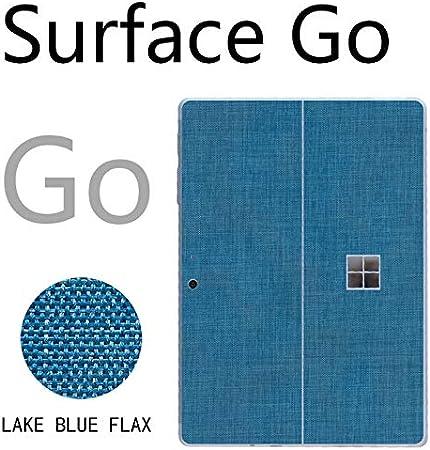 Surface Pro 5 6 7 Go Ultra Slim Litchi Grain Rindsleder Skin Sticker Schutzfolie Surface Pro 7