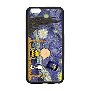 HipsterOne The Starry Night Snoopy TARDIS Case for iPhone 6 Plus (5.5 inch; Laser Technology)
