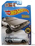 Hot Wheels, 2016 HW Screen Time, Back to the Future Time Machine - Hover Mode Die-Cast Vehicle #221/250 by Hot Wheels