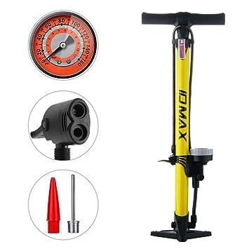 Aizhy Bomba para Bicicleta, Bomba ergonómica para Piso de ...
