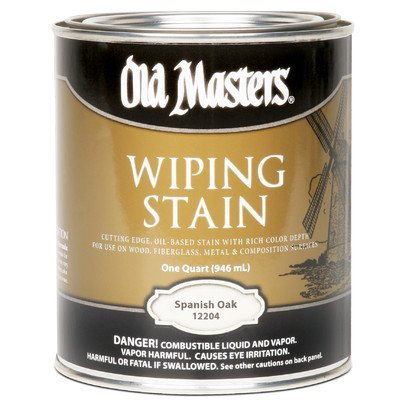 Spanish Oak Wiping Stain Size: 1 Quart - Oak Wiping Stain
