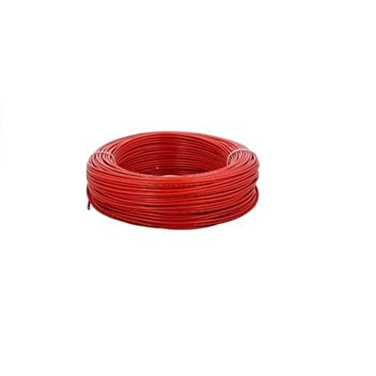 V-Guard PVC Cable 2.5 Sqmm Wire 90mtr Coil (Red): Amazon.in: Home ...