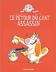 Le chat assassin, tome 2 : Le retour du chat assassin par Anne Fine