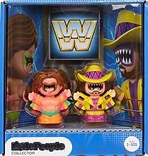 WWE Ultimate Warrior & Macho Man Randy Savage Figures by Little People