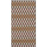 Safavieh Hampton Collection HAM518CD Dark Grey and Rust Indoor/Outdoor Area Rug (2'7″ x 5′) Review