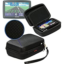 "Extra Large Hard Shell Carry Case For TomTom Start 60, Via 620, Go 600, Via 1605TM, Via 1605M 6"" GPS"