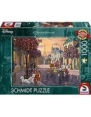 Disney, The Aristocats Puzzle 1.000 Teile: Erwachsenenpuzzle Thomas Kinkade Collection 1.000 Teile