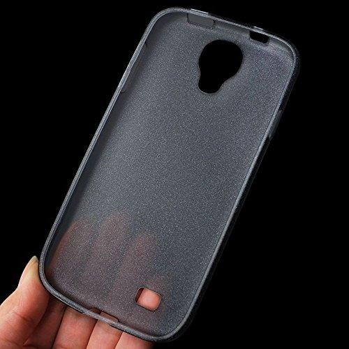 Reiko PSC04–SAMS4BK en polymère contient de la poudre de perle Coque pour Samsung Galaxy S4