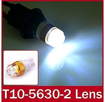 2 piezas OxGrow™ / lot de T10 w5w White 168 194 1,5 W LED Plasma ...