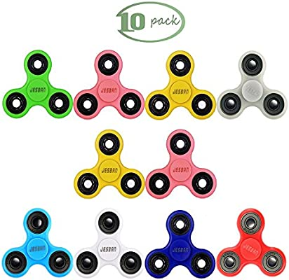 Fidget Spinner Tri Hand ABS Desk Toy Anxiety Stress ADHD Reducer For Kids Adults