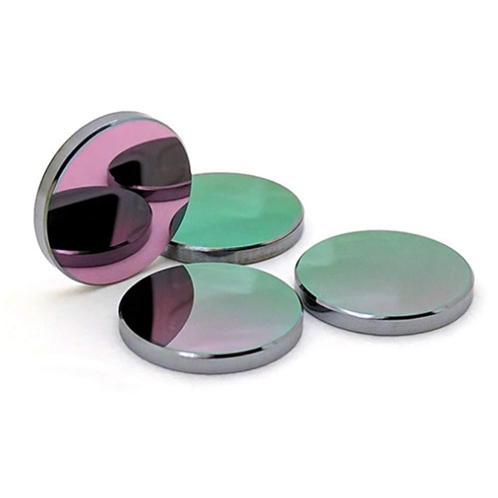 WaveTopSign GaAs Focus Lens Dia. 20mm FL 38.1 50.8 63.5 101 127mm 1.5-4'' for CO2 Laser Engraving Cutting Machine (Dia.20mm Focal Length 38.1mm)