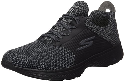 Running Black Walk Skechers Gray Scarpe Go Instinct Nero 4 Uomo W7nnqA18