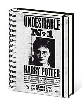 Pyramid International A5/Harry Potter toiles No1 Carnet de Note
