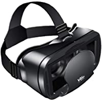 EElabper Vr - Gafas de auriculares 3D de pantalla completa visual de gran angular de realidad virtual Vrg Pro para 5-7…