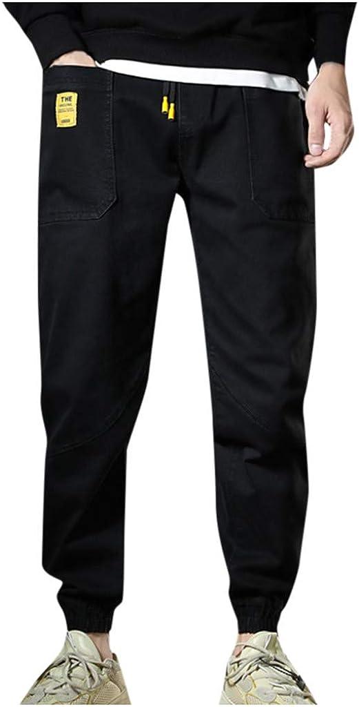 Kimpei Men's Plus Size Casual Safari Style Trouser Loose Long Pants 51KENUjc2BcL