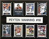 NFL Denver Broncos Peyton Manning 8-Card Plaque, 12 x 15-Inch