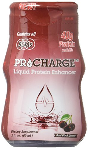 ProCharge Liquid Protein 2oz - Bold Black Cherry
