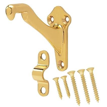 Amazon com: Everbilt Solid Brass Handrail Bracket: Home Improvement