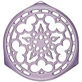 le creuset cast iron trivet - Le Creuset Provence Enameled Cast Iron 9 Inch Deluxe Round Trivet