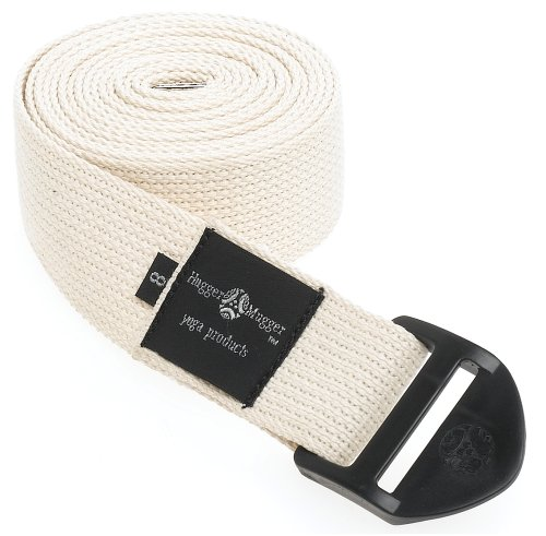 Hugger Mugger Cinch Yoga Strap 8-Foot (Natural)