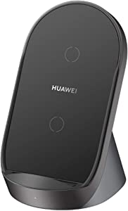 HUAWEI Supercharge Wireless Charger Stand (Max 40 W) Desktop Charger Wall Charger CP62 Compatible with iPhone 11/11 Pro Max/XS Max, Samsung Galaxy, HUAWEI P40 Pro/Mate 30 Pro/P30 Pro and More