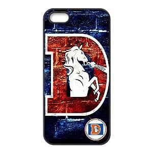 Denver Broncos Team Logo iPhone 4 4s Cell Phone Case Black SVD_576317