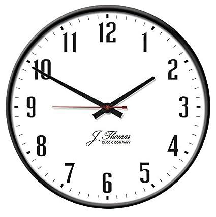 Amazon Com Omega Electric Wall Clock By J Thomas 19