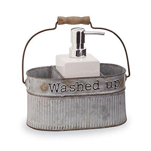 Mud Pie Tin Soap Pump Set (Pie Soap)