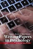 Writing Papers in Psychology 9th Edition