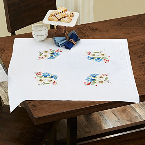 Kamaca Shop Embroidery Kit In U0027Alpine Flowersu0027 Design With Gentian,  Edelweiss And