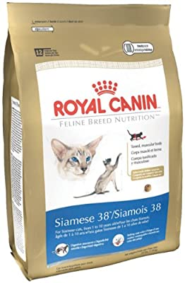 Royal Canin Dry Cat Food Siamese 38 Formula 6-pound Bag by Royal Canin
