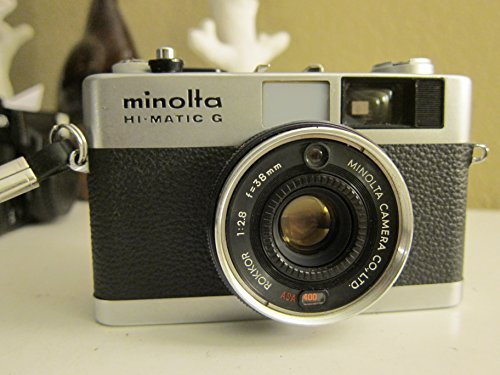 Vintage Minolta Hi-Matic G 35mm Camera