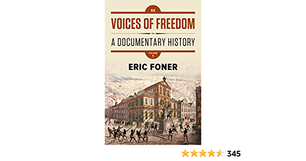 Foner Voices Of Freedom Online