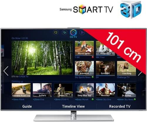Televisor LED 3D Smart TV UE46F7000 + Gafas 3D Active SSG-3570CR: Amazon.es: Electrónica