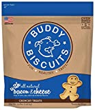 Buddy Biscuits Original Oven Baked Treats With Bacon & Cheese - 3.5 Lb., 1 Piece