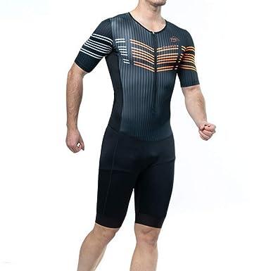 Camisa de compresión Traje siamés Traje Ciclista de ...