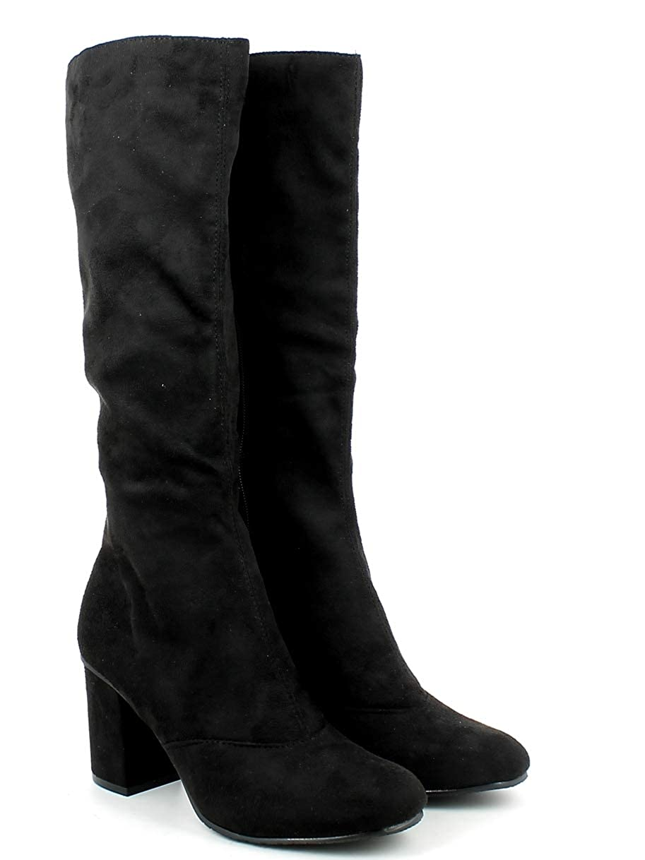 LE Weiß, Weiß, Weiß, Damen Stiefel & Stiefeletten Schwarz Schwarz b79333