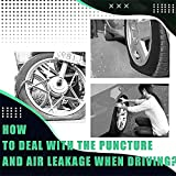 10/20pcs Tubeless Tyre Repair Rubber Nails Vacuum