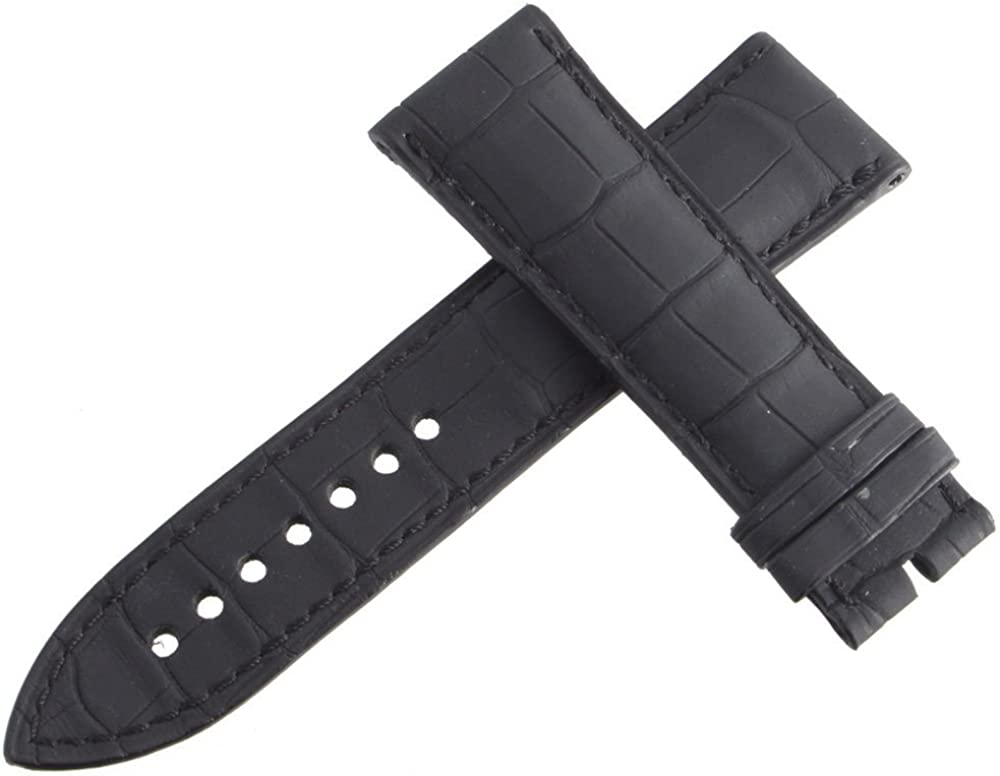 Authentic Blancpain Black Leather Watch Band Men's Strap 23mm x 20mm 29K
