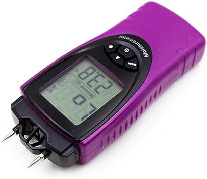 Medidor digital de Humedad detector humedad ladrillo de madera 3 Pantalla Lcd Luz De Fondo De Color