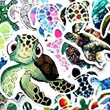 pengxiaomei 50 pcs Vinyl Cute Sea Turtles