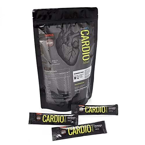 Cardio Miracle (TM) - The Complete Nitric Oxide Solution - Nutritional Heart Healthy L-Arginine Drink Mix (30 Servings Organic Cane Sugar) - Cardio Edge