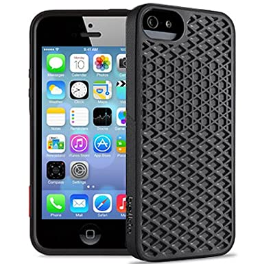 purchase cheap 7113d 9749d Belkin Vans Waffle Sole Case for iPhone 5S/5 (Blacktop/Blacktop ...