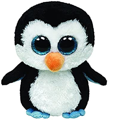 Amazon.com  Ty Beanie Boos - Waddles - Penguin  Toys   Games 851bb6d53f0