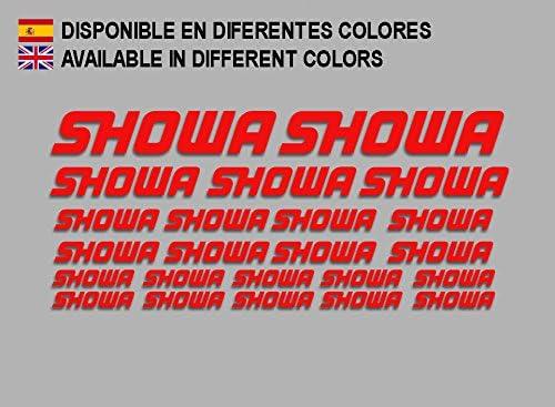 rot Ecoshirt D0-PBON-F5NC Aufkleber Showa F205 Stickers Aufkleber Decals Moto GP Bike