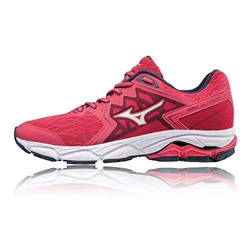 Shoes Running Red Mizuno Blue 02 White Wave Evening 10 W Teaberry Women's Ultima YfqwOA